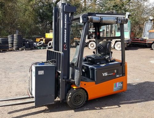 Five reasons why you should switch to electric forklifts